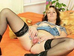 Naughty amateur houswife...